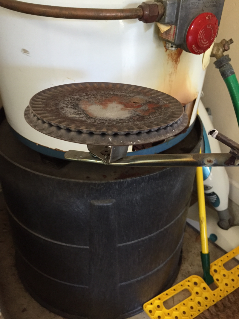 Clean Gas Water Heater Burner
